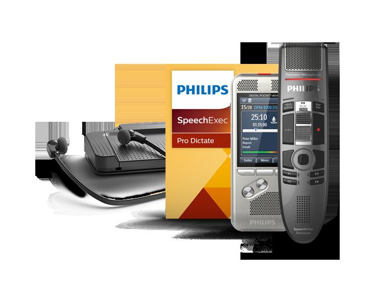 Software de dictado y reconocimiento de voz SpeechExec Pro vincula a los autores y a los transcriptores